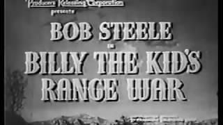 Billy the Kid's Range War (1941)