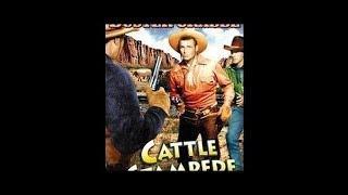 [Western] Cattle Stampede (1943) Buster Crabbe, Al St. John, Frances Gladwin