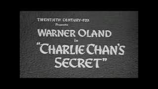 Charlie Chan's Secret (1936)